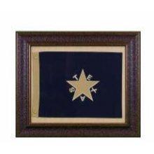 Small Republic Of Texas Flag W/Matt
