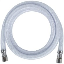 """PVC Ice Maker Connector with 3/8"""" Compression, 5ft"""