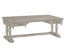 Elizabethan Grey Oak Desk (Large)