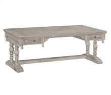 Elizabethan Grey Oak Desk (Large)