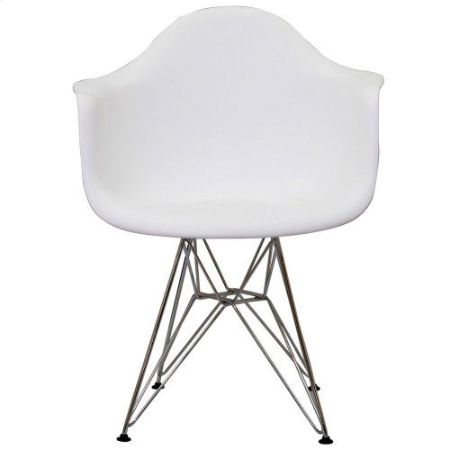 Paris Dining Armchair in White