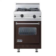 "Chocolate 24"" Wok/Cooker Companion Range - VGIC (24"" wide range with wok/cooker, single oven)"