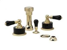 VERSAILLES Four Hole Bidet Set K4244 - Polished Brass