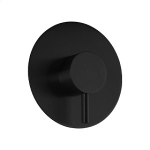 Pressure Balance Mixer RND + LEVER - Black Product Image