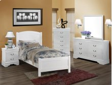 Louis Philip 5-d Chest White