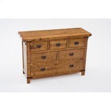 Bungalow - 6 Drawer Dresser