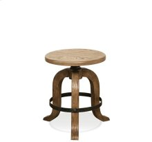 Northcote Adjustable Stool Heathered Oak finish