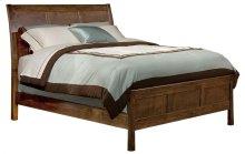Alder Shaker Sleigh Bed