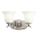 Wedgeport Collection Wedgeport 2 Light Fluorescent Bath Light - NI Product Image
