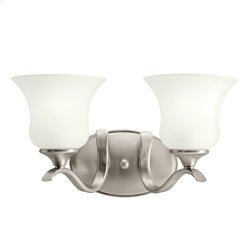 Wedgeport Collection Wedgeport 2 Light Fluorescent Bath Light - NI
