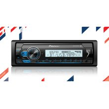 Digital Marine Receiver with enhanced Audio Functions, Pioneer Smart Sync App Compatibility, MIXTRAX®, and Built-in Bluetooth®