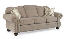 Bexley One-Tone Fabric Sofa with Nailhead Trim