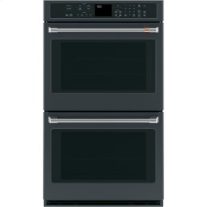 "Cafe AppliancesCaf(eback) 30"" Built-In Double Convection Wall Oven"
