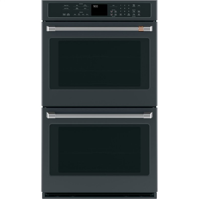 """Caf(eback) 30"""" Smart Double Wall Oven with Convection"""