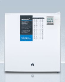 Compact Refrigerator-freezer With Nist Calibrated Thermometer, Hospital Grade Cord, and Front-mounted Lock for General Purpose Use; Replaces S19lwhplus