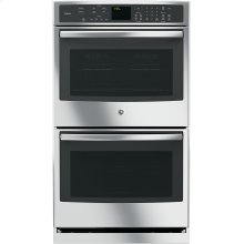 "FLOOR MODEL CLOSEOUT GE Profile™ Series 30"" Built-In Double Wall Oven with Convection"