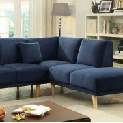 Hagen Sectional, Navy Product Image