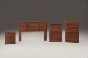Cherry 5 Drawer Chest