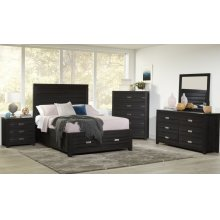 Altamonte Power Nightstand - Dark Charcoal