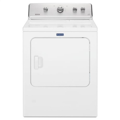 """Maytag® Large Capacity Top Load Dryer with Wrinkle Control """" 7.0 cu. ft. - White"""