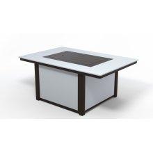 """MGP Top Fire Tables 36"""" x 54"""" Rectangular MGP Top Fire Table"""