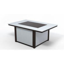 "MGP Top Fire Tables 36"" x 54"" Rectangular MGP Top Fire Table"