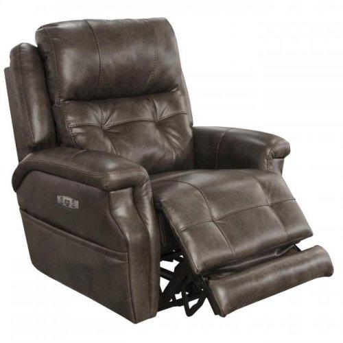 Power Headrest w/ Lumbar Recliner w/ Extended Ottoman