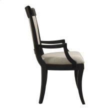 Modern Heritage Upholstered Back Arm Chair