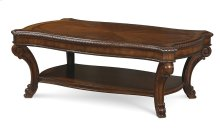 Old World Rectangular Cocktail Table