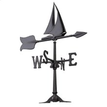 "24"" Sailboat Accent Weathervane"