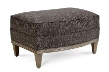 Cityscapes Cooper Slipper Chair Ottoman - Charcoal