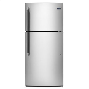 30-inch Wide Top Freezer Refrigerator with PowerCold(R) Feature- 18 CU. FT. - STAINLESS STEEL