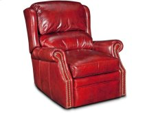 Bancroft Swivel Glider Recliner W/Brass Nails