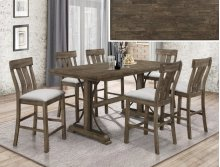 CROWN MAR2831T-3671 2831S24 Quincy Counter Heigh 5-Piece Dinette Table And 4 Chairs