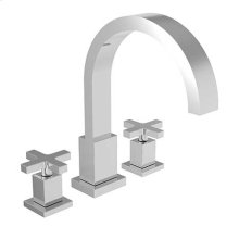 Satin Nickel - PVD Roman Tub Faucet