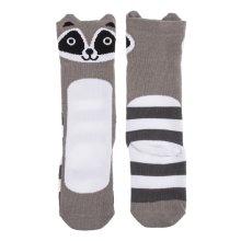 Raccoon Knee Socks (2 pairs)