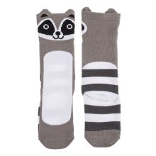 Raccoon Knee Socks (1 pair)