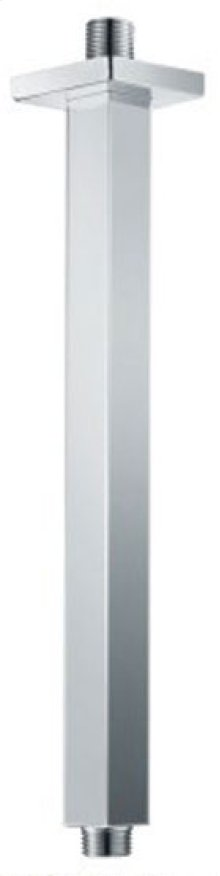 """AB12SC 12"""" Square Ceiling Mounted Brushed Nickel Shower Arm for Rain Shower Heads"""