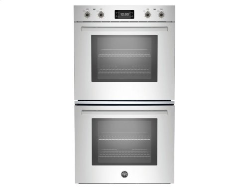 30 Double Convection Oven with Assistant Stainless