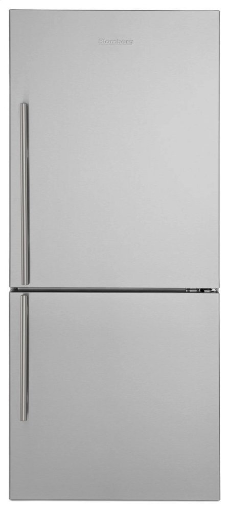 """30"""" Bottom Freezer/Fridge 18 cu ft, wrapped stainless doors, stainless handles, right hinge  STAINLESS STEEL"""