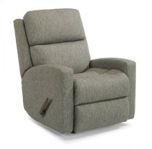 Catalina Fabric Swivel Gliding Recliner