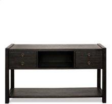 Perspectives Console Table Ebonized Acacia finish