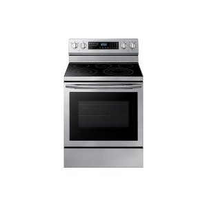 5.9 cu. ft. Freestanding Electric Range with True Convection in Stainless Steel -