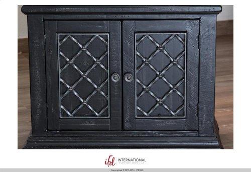 1 Drawer, 2 doors Nightstand