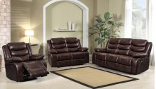 8055 Brown Loveseat