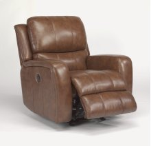 Hammond Leather Power Gliding Recliner