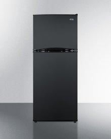 "24"" Wide 9.9 CU.FT. Frost-free Refrigerator-freezer In Black"
