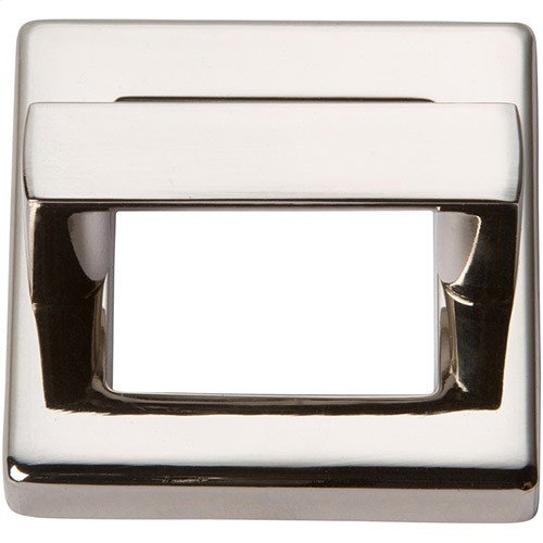 Tableau Square Base and Top 1 7/16 Inch - Polished Nickel
