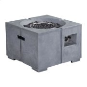 Dante Propane Fire Pit Gray Product Image