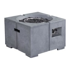 Dante Propane Fire Pit Gray Product Image